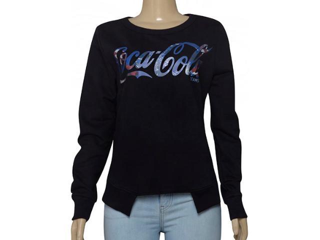 Blusão Feminino Coca-cola Clothing 403200276 Preto