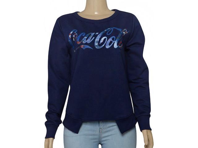 Blusão Feminino Coca-cola Clothing 403200276 Marinho