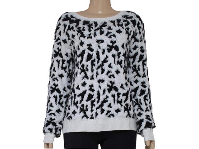 Blusão Feminino Morena Rosa 103878 Branco/preto