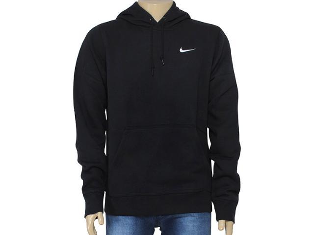 Blusão Masculino Nike 611457-010 Club Hoody-swoosh Preto
