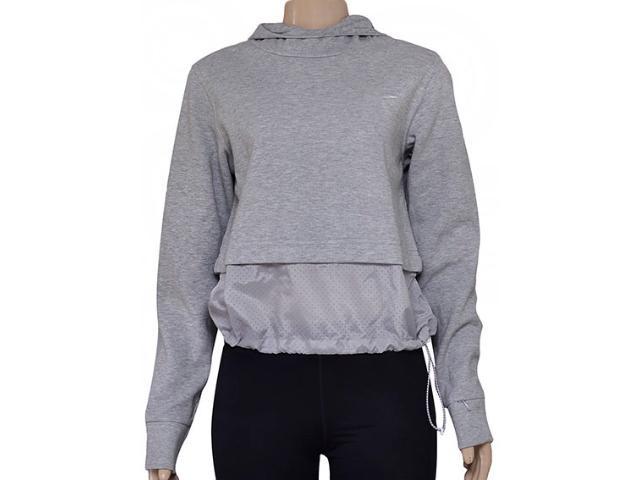 Blusão Feminino Nike 725718-063 Advance 15 Half-zip Cinza