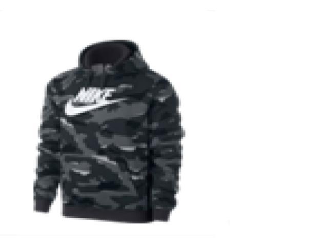 Blusão Masculino Nike Ar2867-065 Sportswear Camuflada Cinza/branco