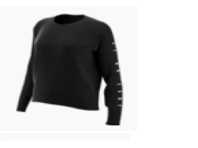 Blusão Feminino Nike At0599-010 Dri Fit Preto