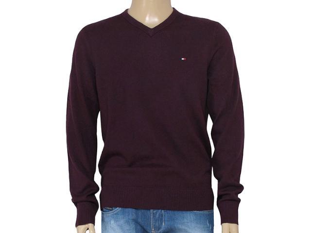 Blusão Masculino Tommy Th0857858112 Vinho