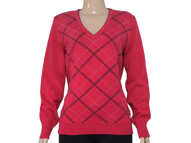 Blusão Feminino Zanatta 25022 Xadrez Vermelho