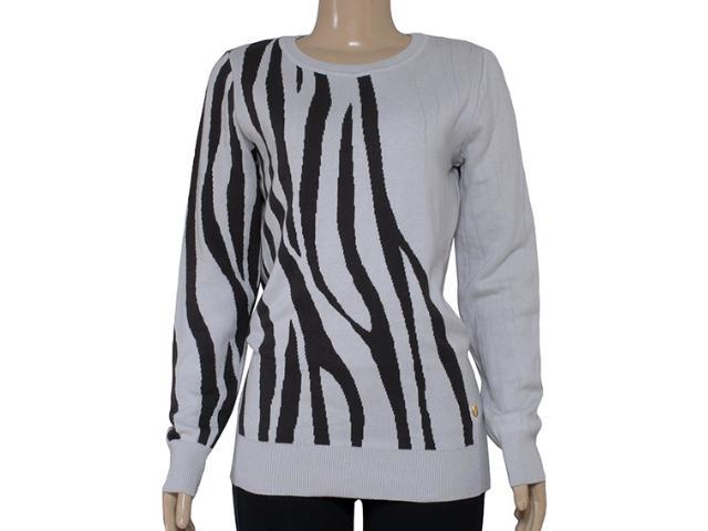 Blusão Feminino Zanatta 25041 Bege Zebra