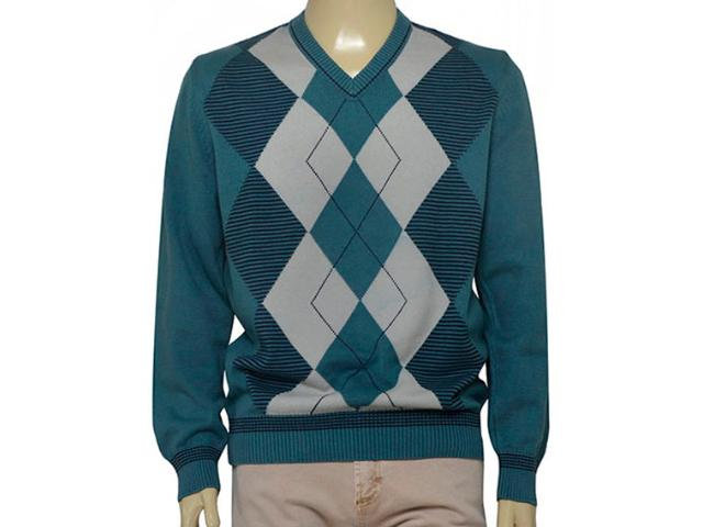 Blusão Masculino Zanatta 5130 Xadrez Verde