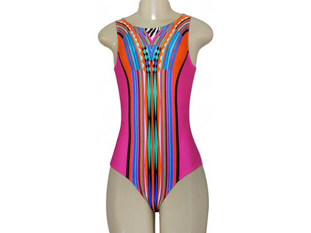 Body Feminino Cia Maritima 532592 Rosa/color