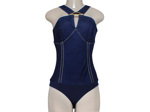 Body Feminino Dopping 016212501 Jeans