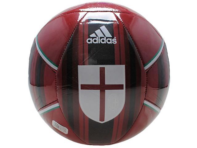 Bola Unisex Adidas F93725 ac Milan Vermelho