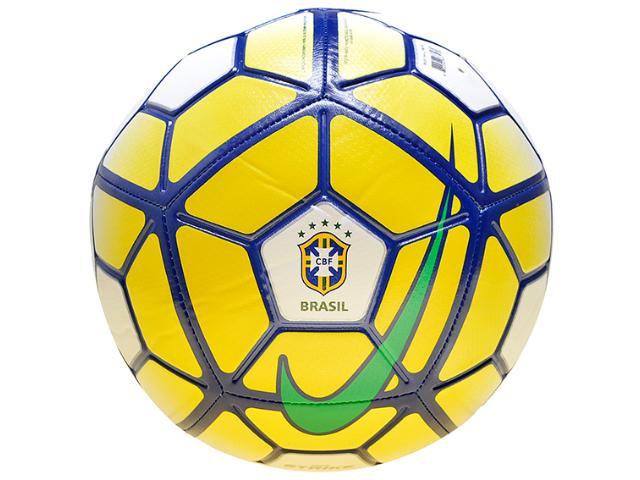 d92622b7e6 Bola Unisex Nike Sc2908-100 Strike Cbf Branco marinho amarelo