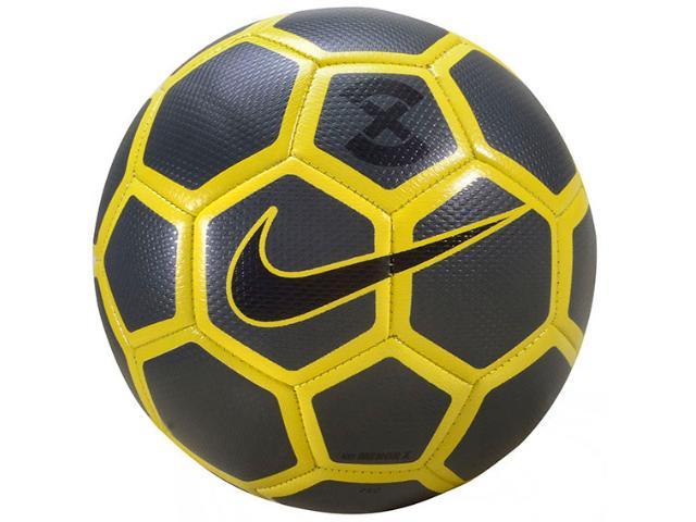 Bola Masculina Nike Sc3039-060 Football Preto/amarelo