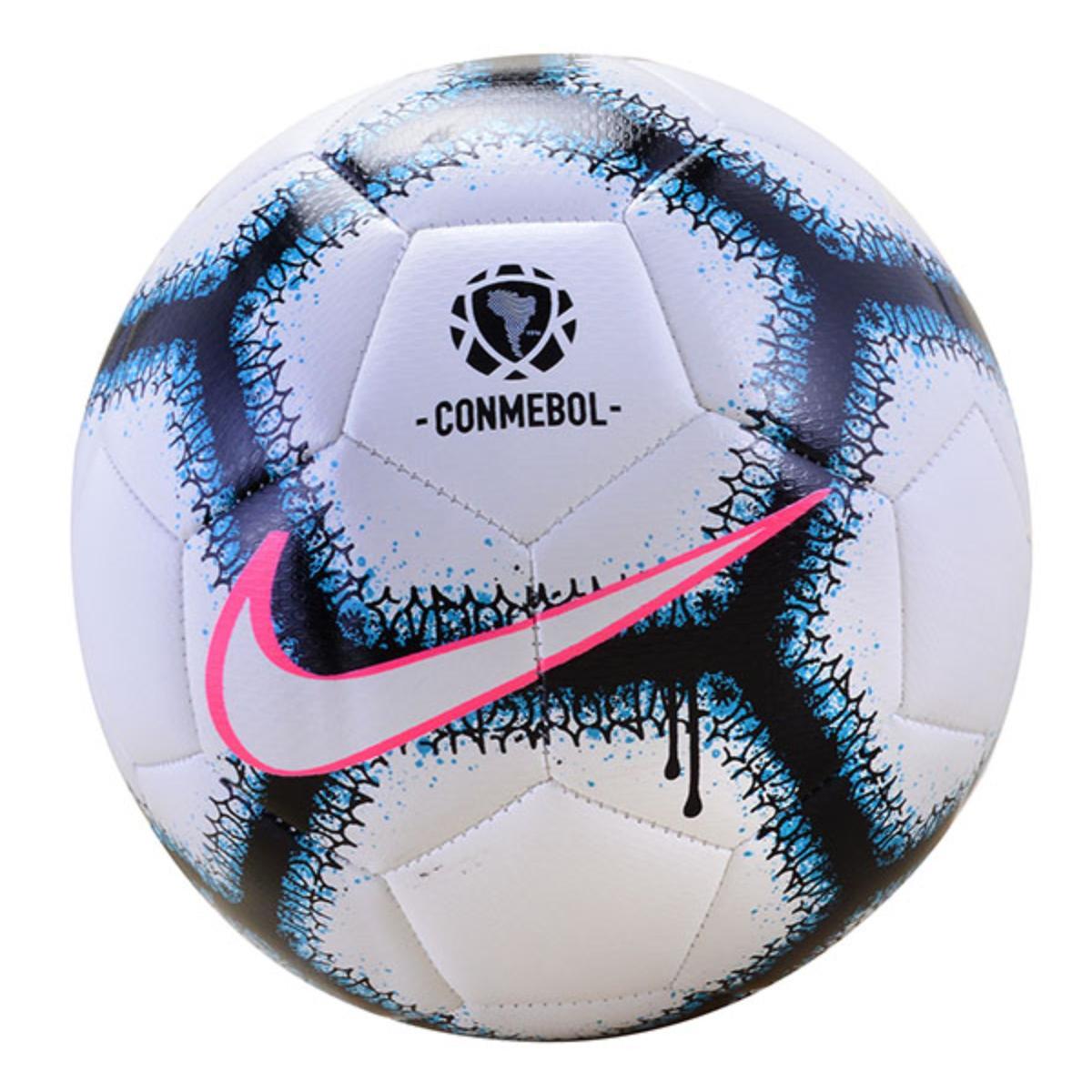 Bola Unisex Nike Sc3980-100 Copa America nk Menor x Branco/preto/azul/pink