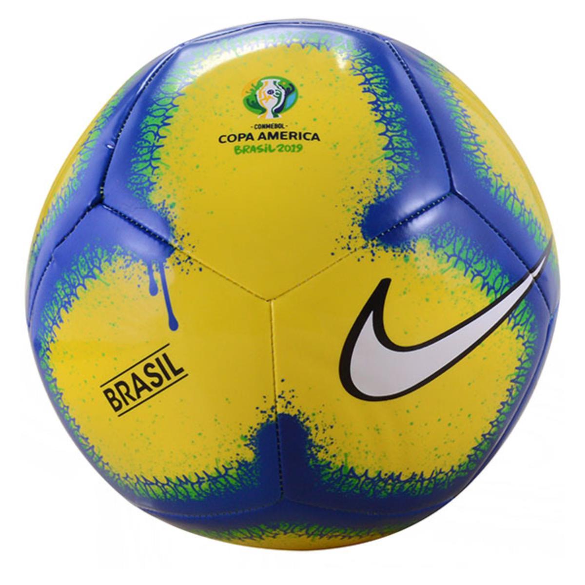 Bola Unisex Nike Sc3916-710 Copa America nk Amarelo/azul