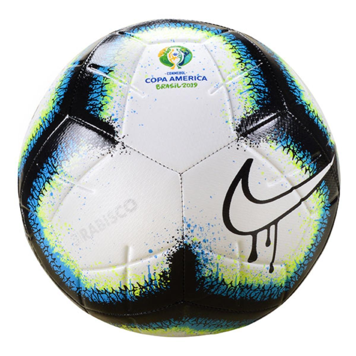 Bola Unisex Nike Sc3908-100 Copa America Branco/preto