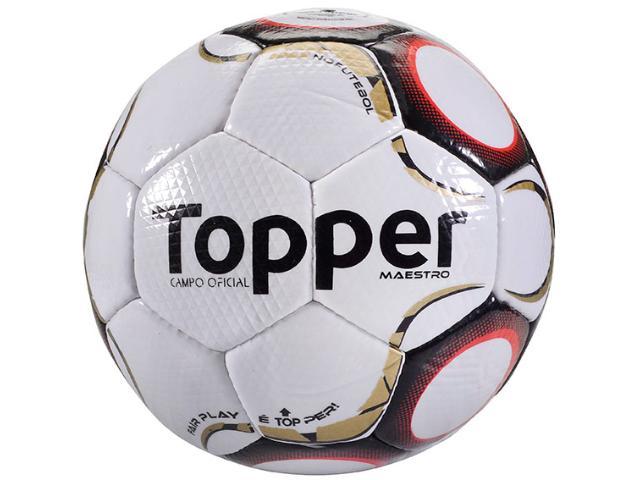 Bola Masculina Topper 4200141 111 Maestro Td2 Branco/vermelho