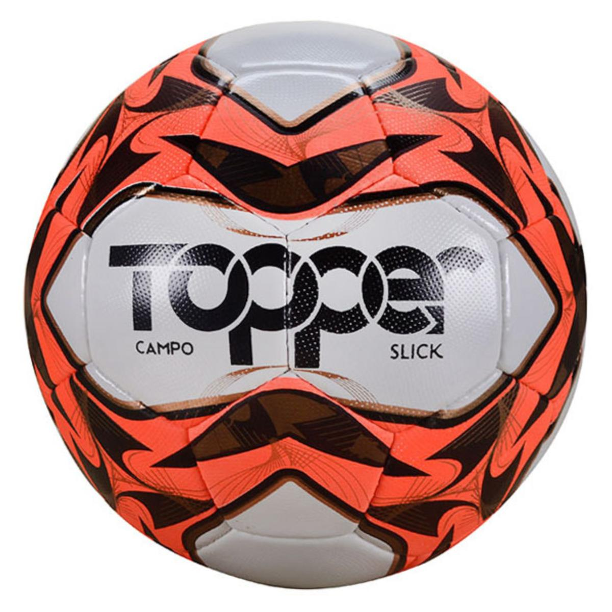 Bola Unisex Topper 32230019127 Cpo Slick Cost Branco/laranja/preto