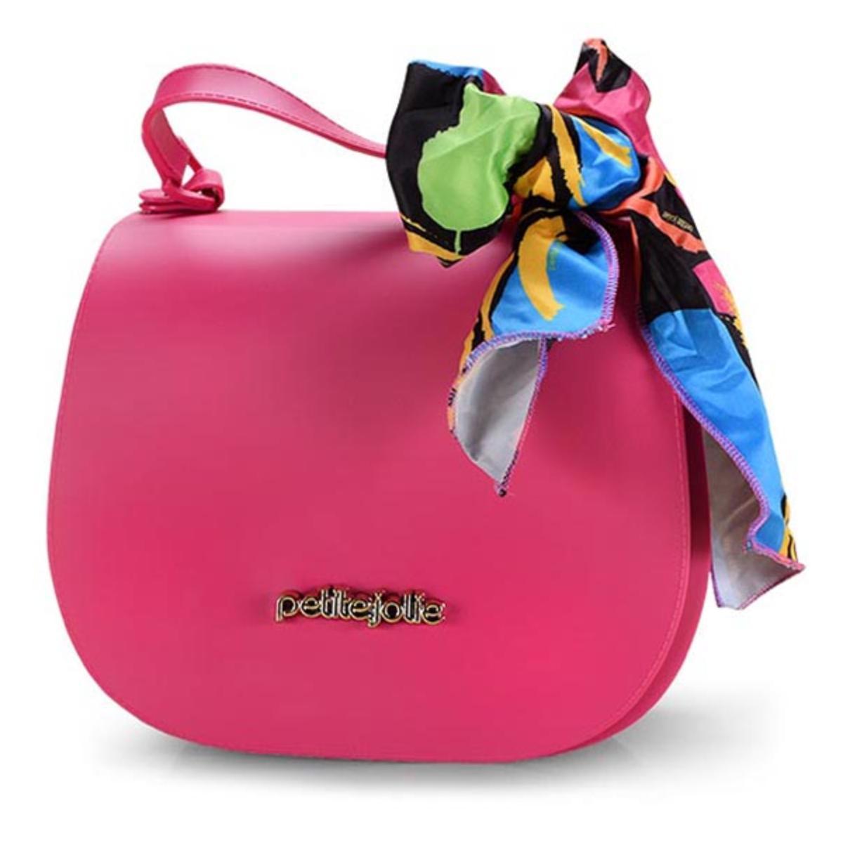 Bolsa Feminina Petite Jolie Pj4360 Pink/preto