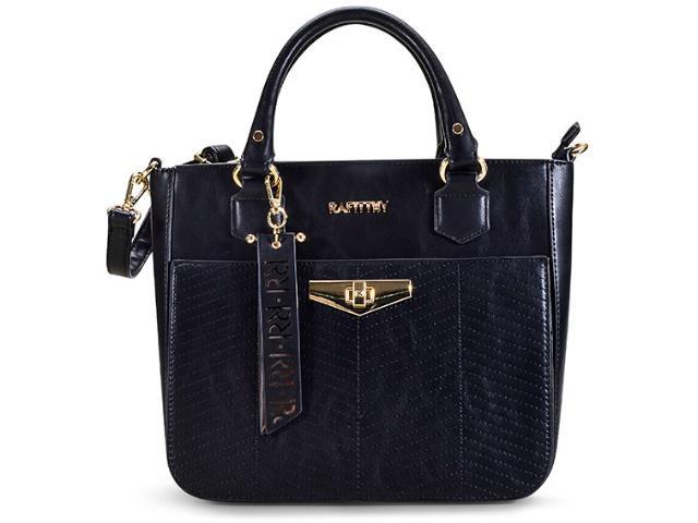 Bolsa Feminina Rafitthy 22.82156 Preto/pewter