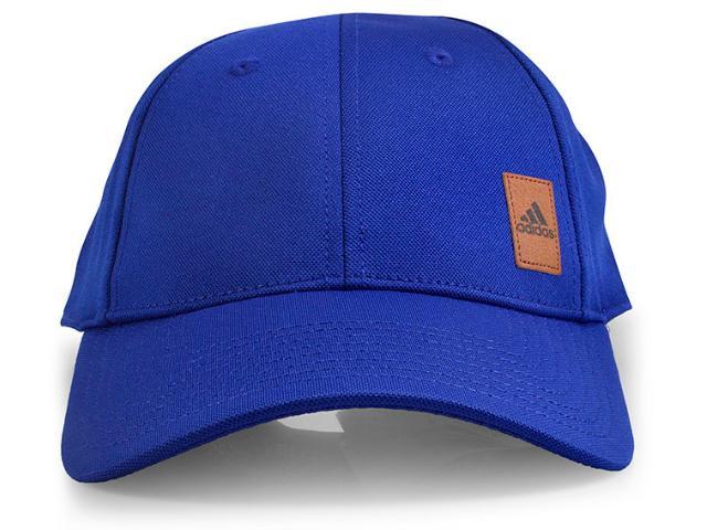 Boné Masculino Adidas Bq7358 Pique Cap Azul