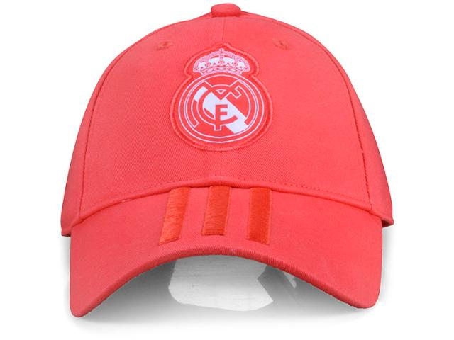 Boné Unisex Adidas Cz6101 Real Madrid 3 Coral