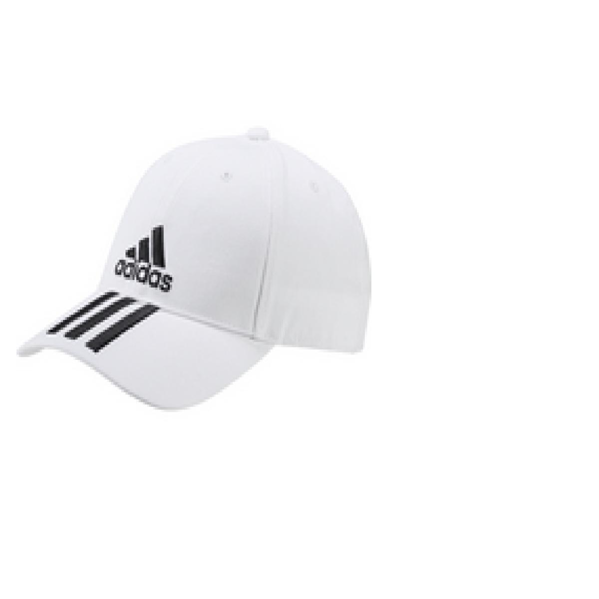 Masculino Adidas Du0197 Boné Ess 3s Cotton Branco