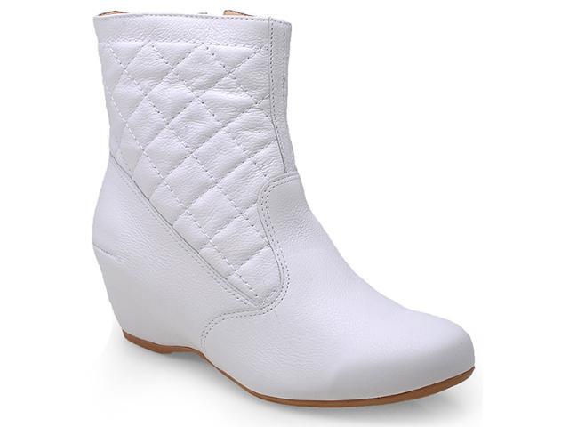 Bota Feminina Campesi 4174 Branco