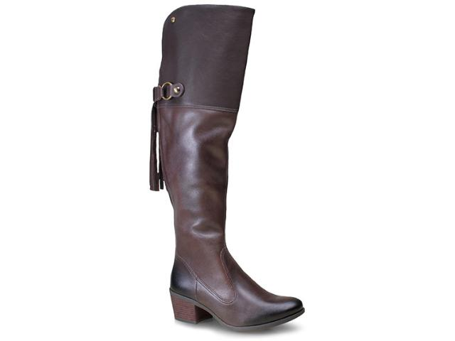 Bota Feminina Dakota 7373 Chocolate