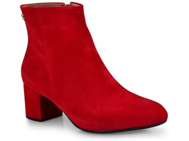 67ad09747 Bota Vizzano 3067100 Vermelho Comprar na Loja online...