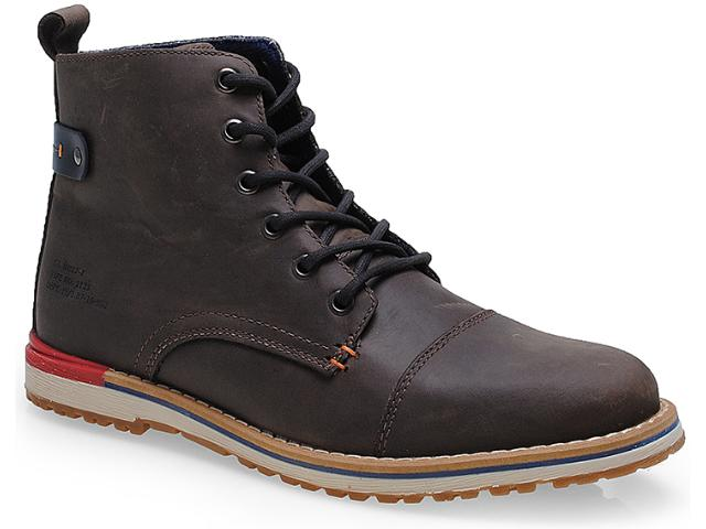 Bota Masculina West Coast 111306/2 Brown