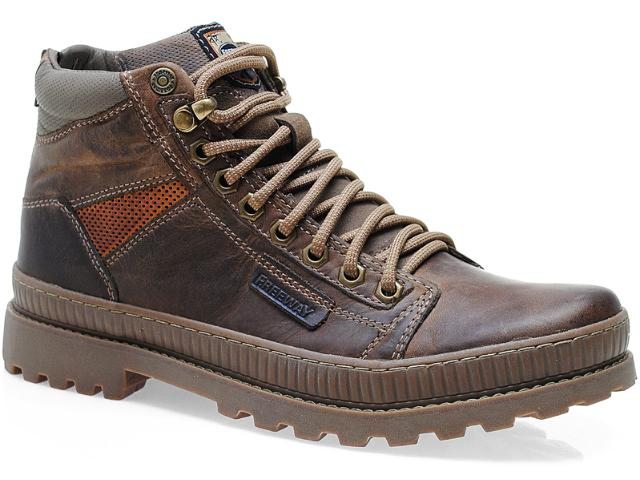 Bota Masculina Free Way Jungle-1 Marrom