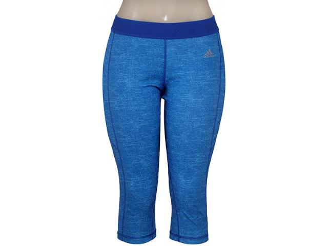 Calça Feminina Adidas Aa7207 Graf Techfit w   Azul