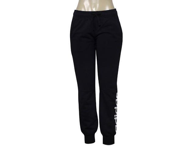 Calça Feminina Adidas S97154 Ess Lin Pant Preto/branco