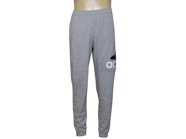 Calça Masculina Adidas Bk7409 Ess Lgo Mescla