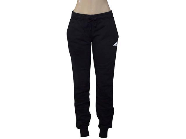 Calça Feminina Adidas S97159 Ess Solid Pant Preto