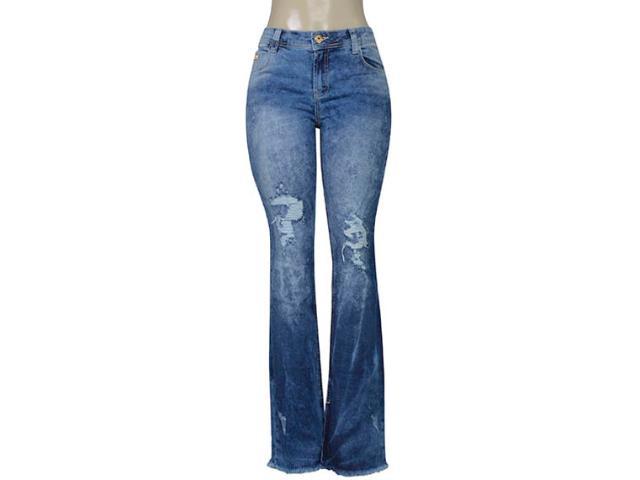 Calça Feminina Coca-cola Clothing 23202410 Jeans Estonado