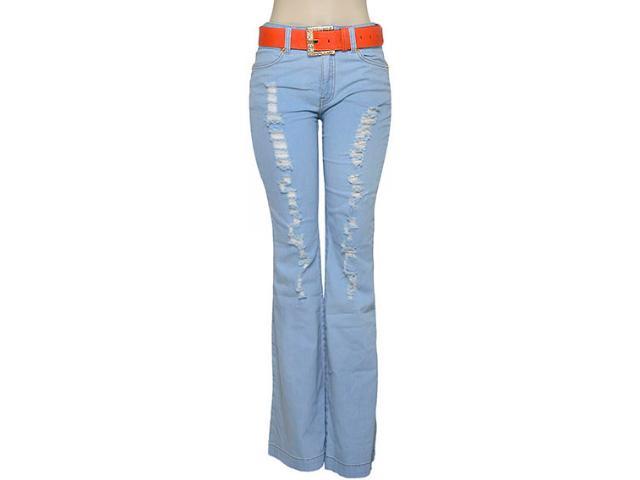 Calça Feminina Dopping 012261503 Cor Jeans