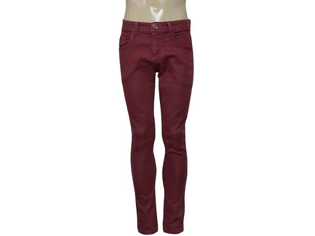 Calça Masculina Dopping 012867014 Bordo