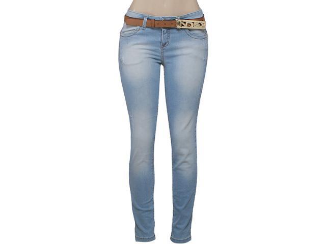 Calça Feminina Index 01.01.001634 Cor Jeans