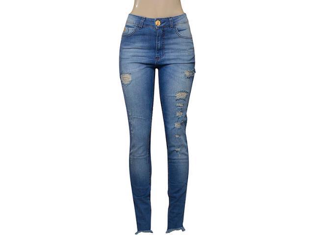 Calça Feminina Index 01.01.002246 Jeans Claro