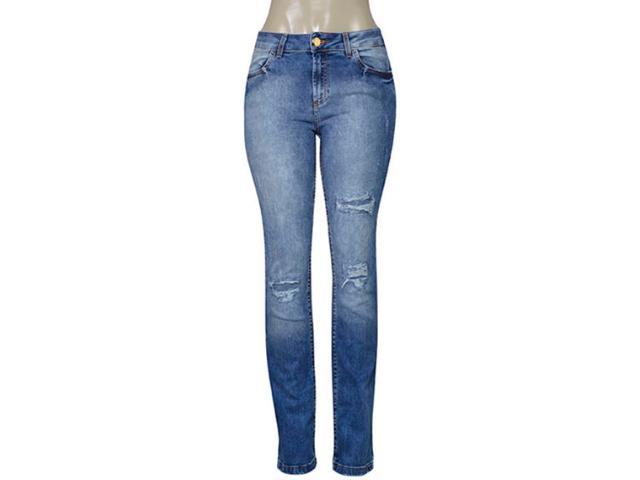 Calça Feminina Index 01.01.003485 Jeans Estonado