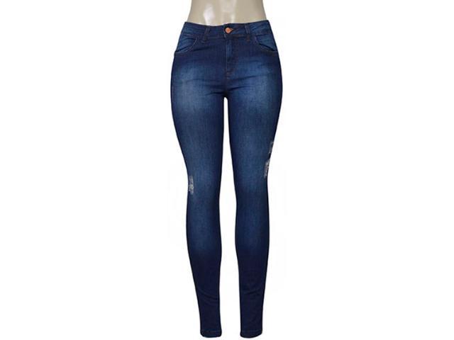 Calça Feminina Index 01.01.003491 Jeans Escuro