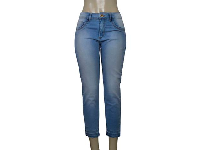 Calça Feminina Kacolako 25993 Jeans Claro