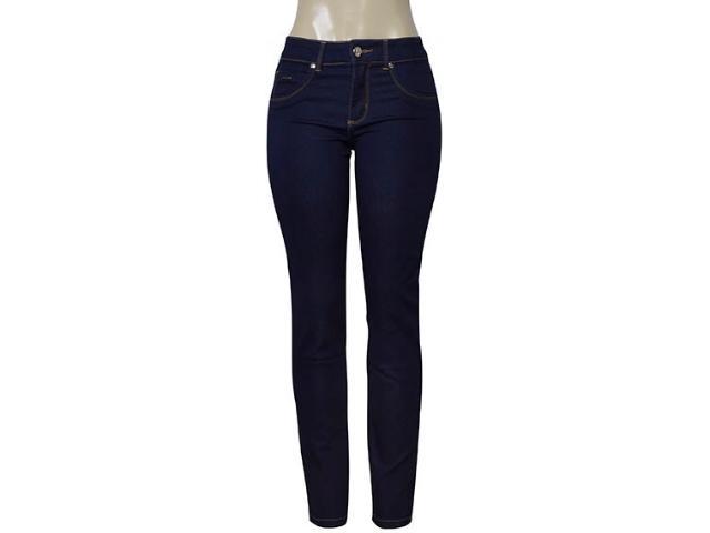 Calça Feminina Kacolako 27801 Jeans Escuro