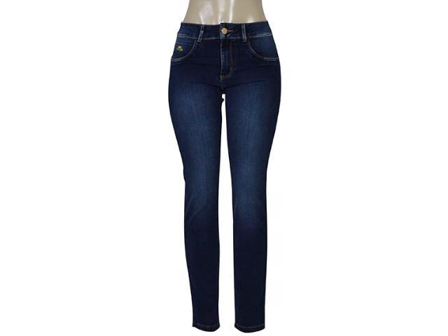 Calça Feminina Kacolako 27807 Jeans Escuro