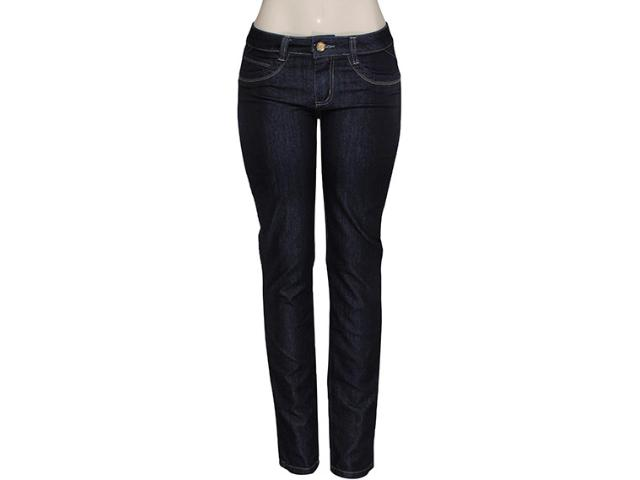 Calça Feminina Kacolako 14949 Cor Jeans