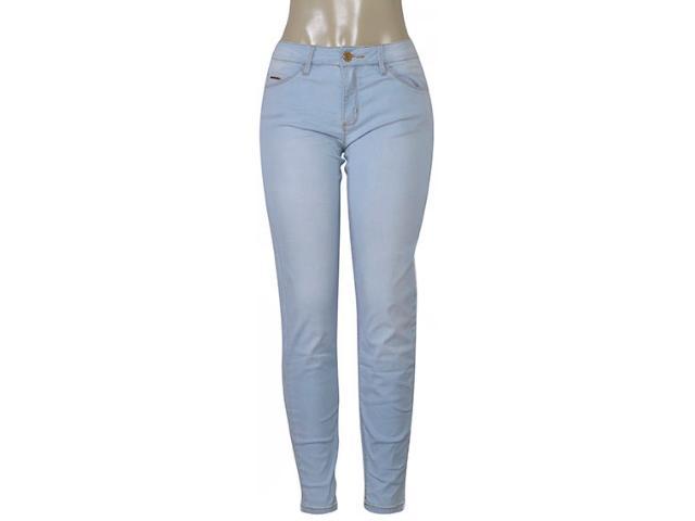 Calça Feminina Lado Avesso 105323d Jeans Claro