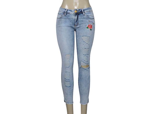 Calça Feminina Lado Avesso 100109b Jeans