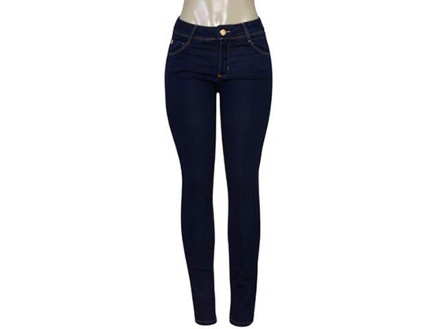Calça Feminina Lado Avesso 102149 Jeans Escuro