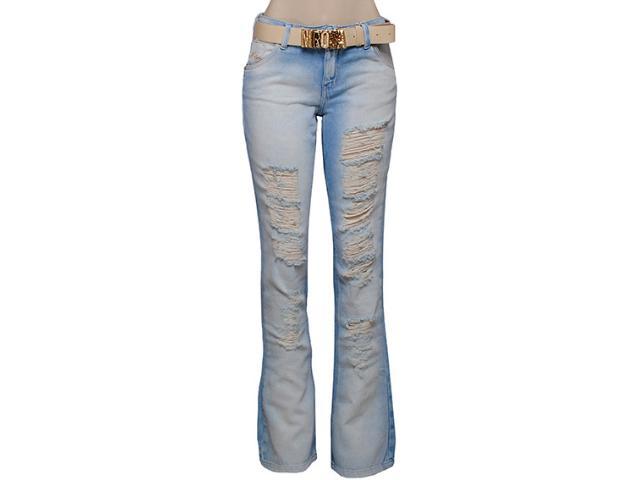 Calça Feminina Morena Rosa 201695 Cor Jeans